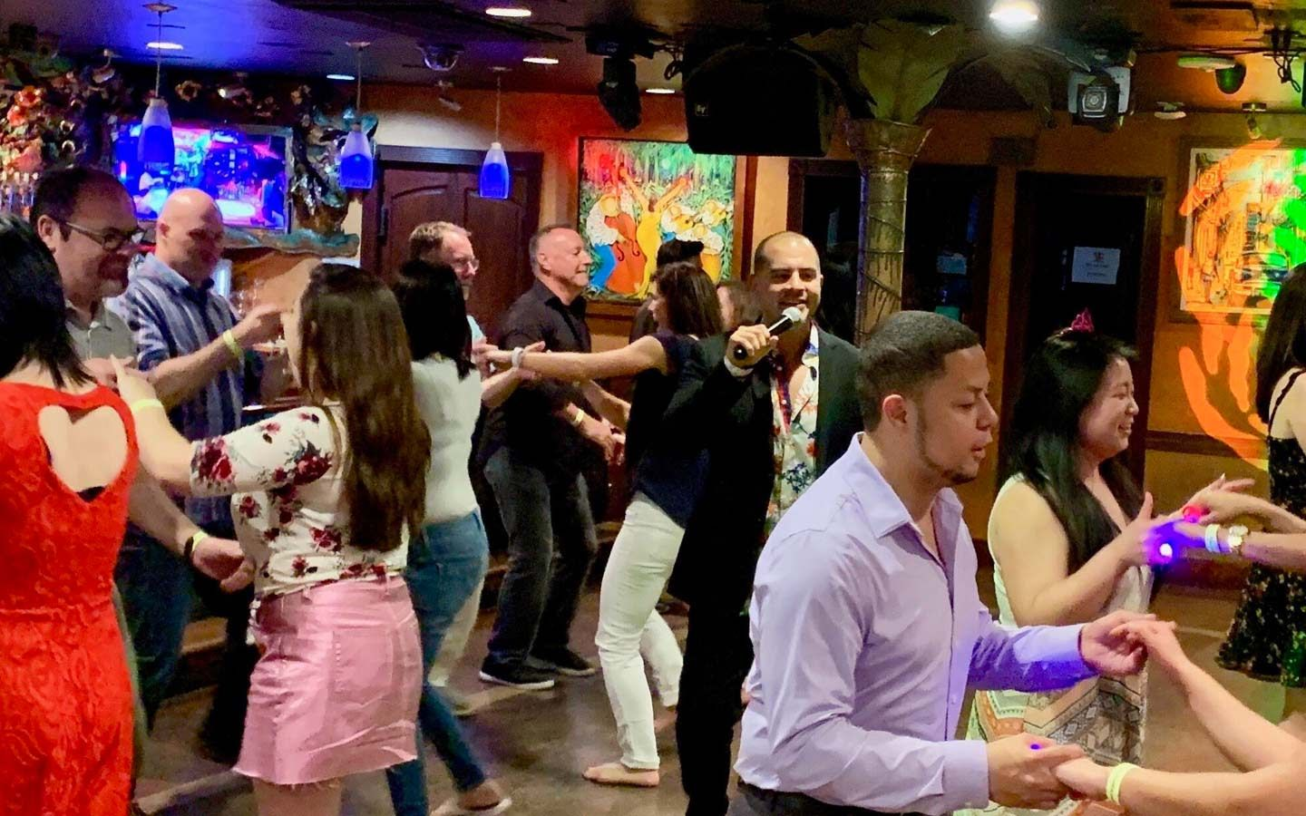 Salsa Classes at Mango's Tropical Cafe