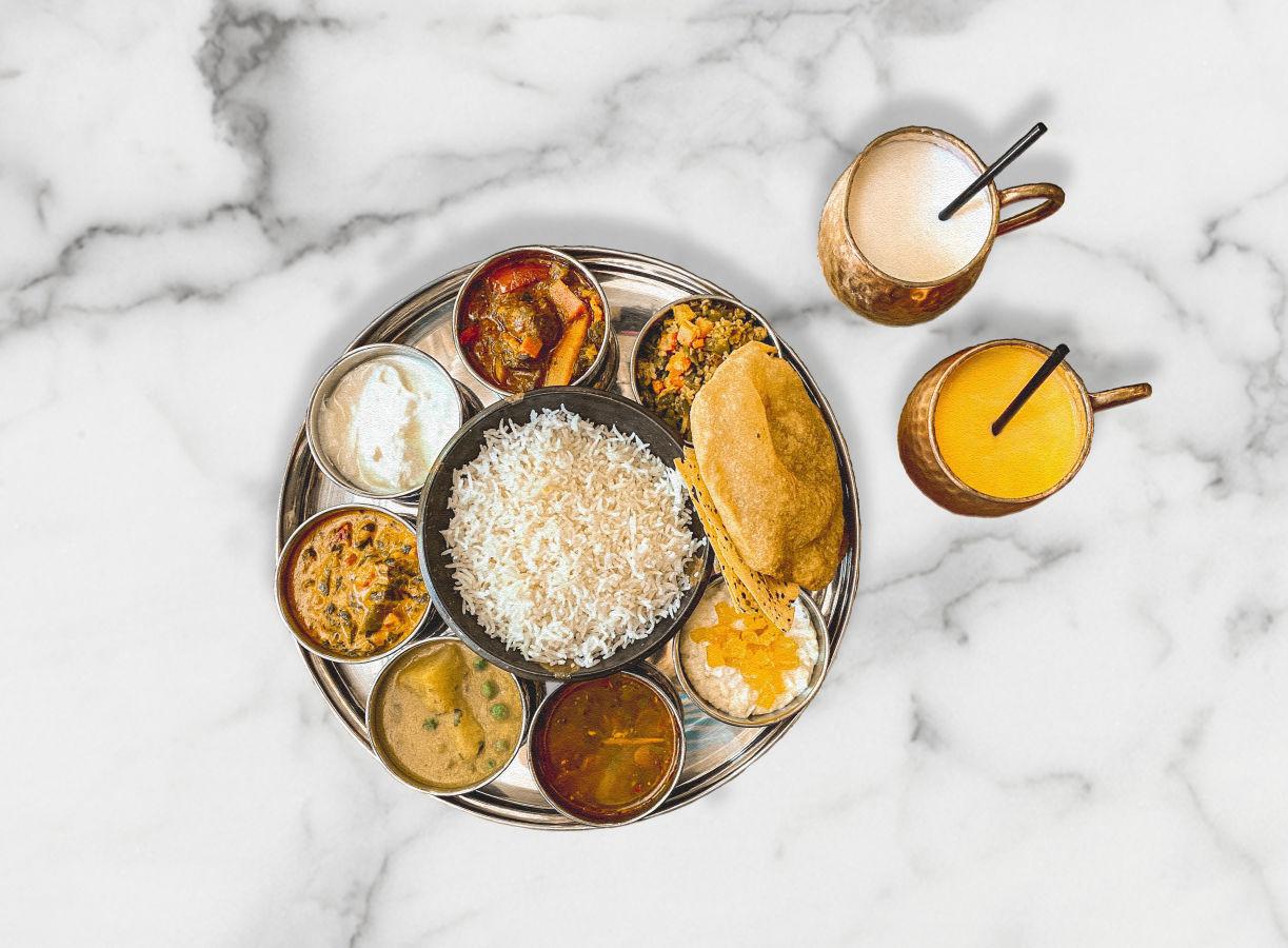 Maska's Endless Thali Plate
