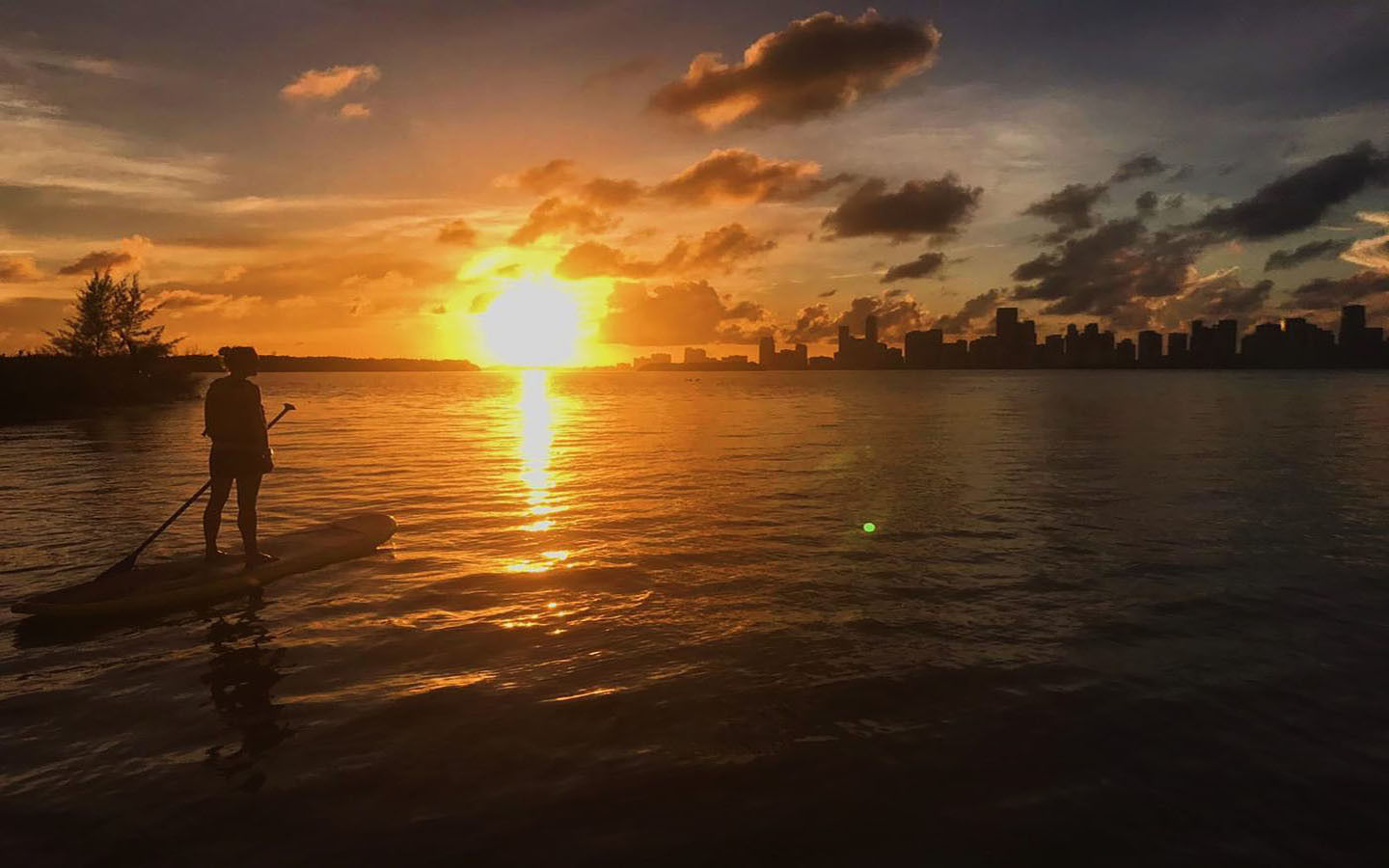 Watch the Sunset from Your Board