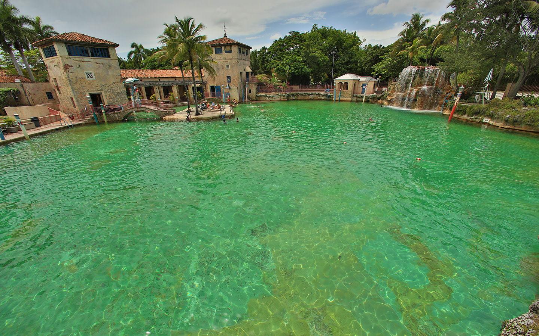 Venetian Pool cascade