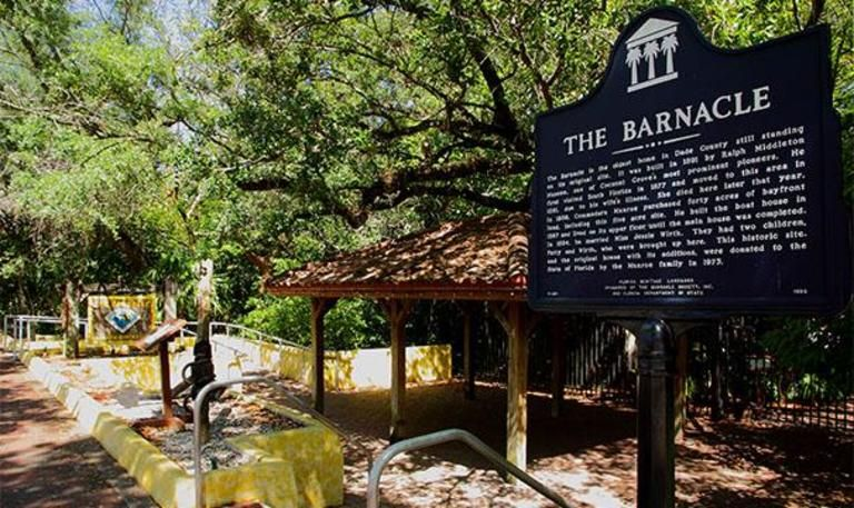 The Barnacle Historic State Park