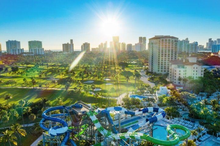JW Marriott Miami Turnberry Resort & Spa: Всплеск в Tidal Cove - Цены начинаются с $ 215