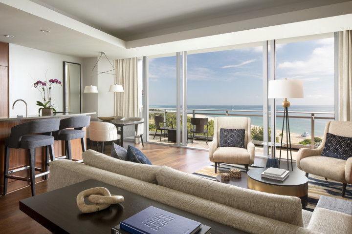 Suite mit zwei Schlafzimmern und privater Etage