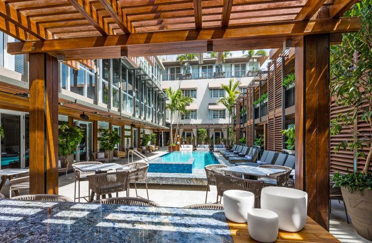 El Lennox Hotel: Conducir y relajarse