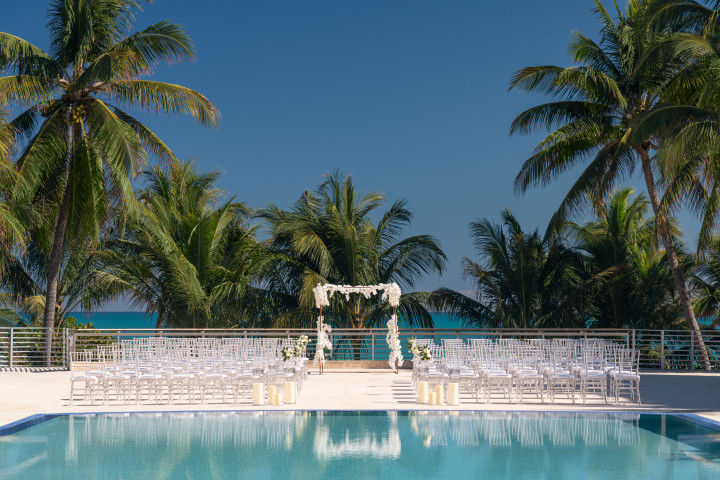 EIN South Beach Hochzeit