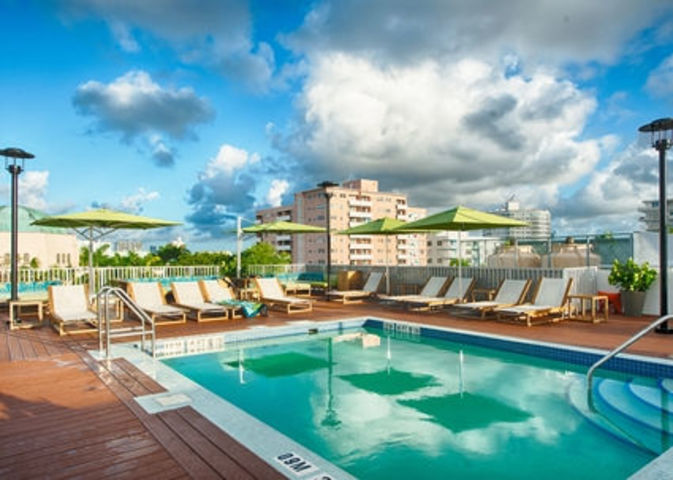 Rooftop Pool Day Pass