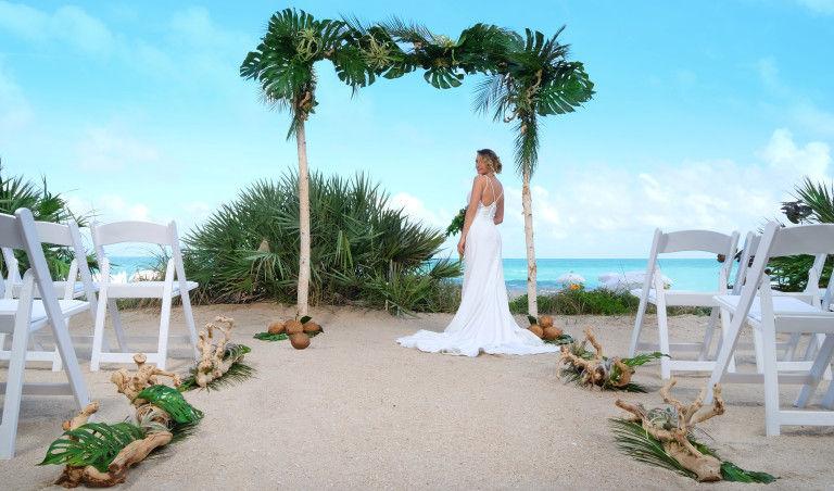 Avantages de mariage sur le Beach