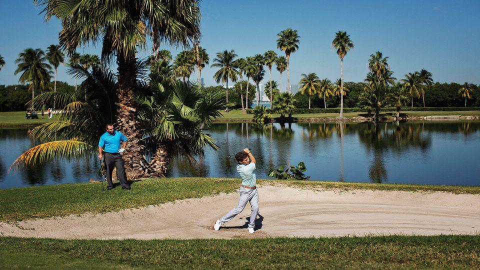 Campos de golfe inesquecíveis de Miami