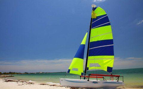 Curta Miami na água