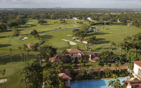 Os melhores resorts de golfe de Miami