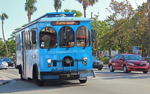 Miami Beach's Free Trolleys