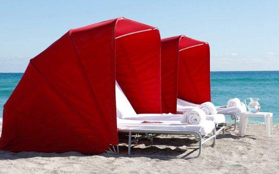 Acqualina Beach Cabanas