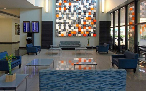 lobby of DoubleTree Miami International Airport