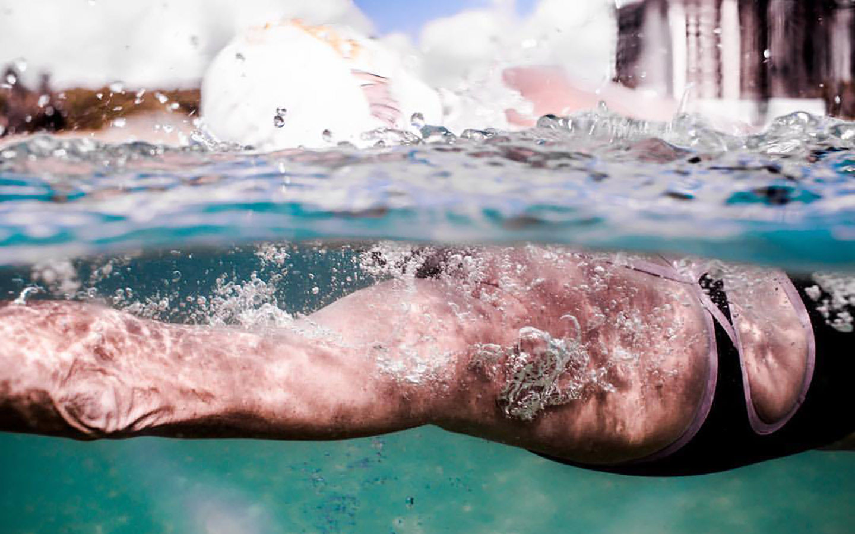 Miami US Open Water Swimmer