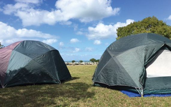 Camping in Biscayne National Park