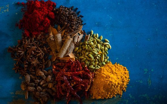 Spices at Ghee
