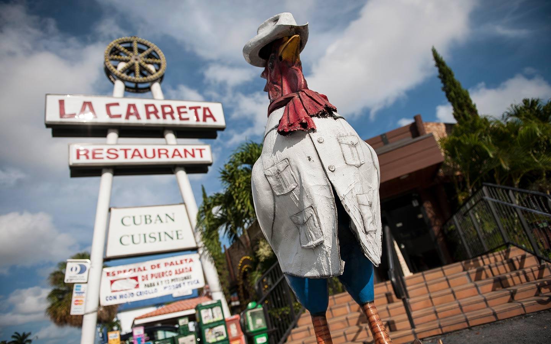 La Carreta Little Havana Rooster