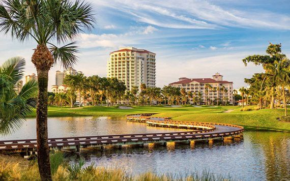 Golf course at JW Marriott Miami Turnberry Resort & Spa