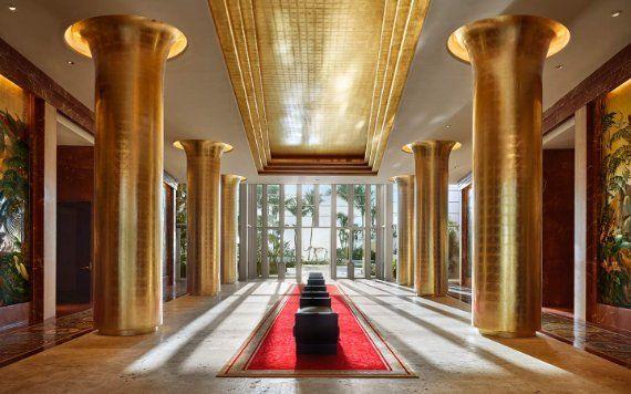 Lobby at The Faena