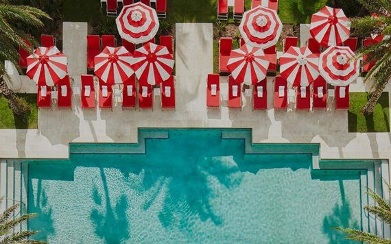 Pool at Faena Hotel Miami Beach
