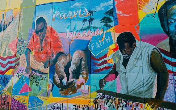 mural by Purvis Young