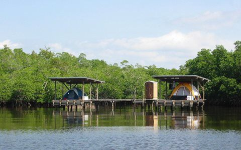 Camping and Glamping in Miami's National Parks