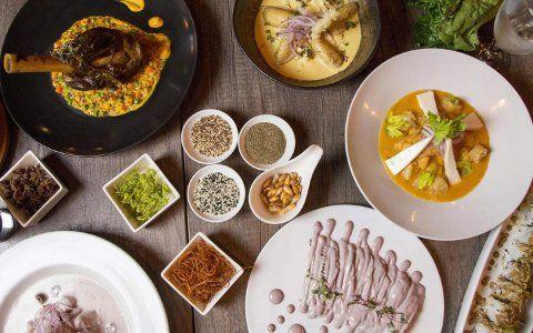 Itens básicos para refeições multiculturais de Miami