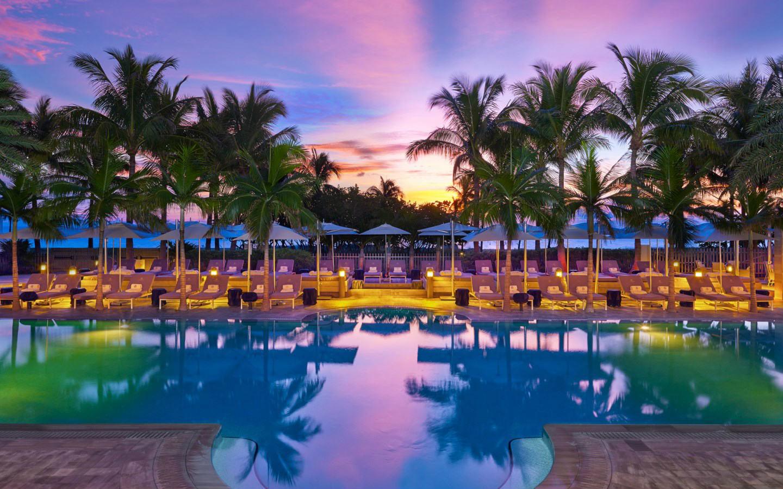 Hoteles de lujo en Miami