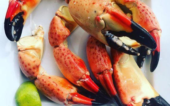 Stone Crabs at Garcia's