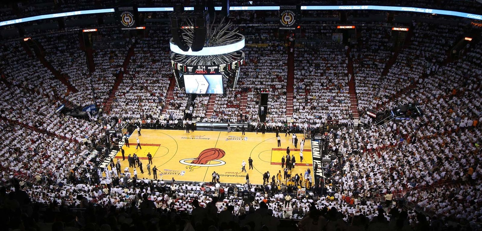 American Airlines Arena Miami Heat Home Game