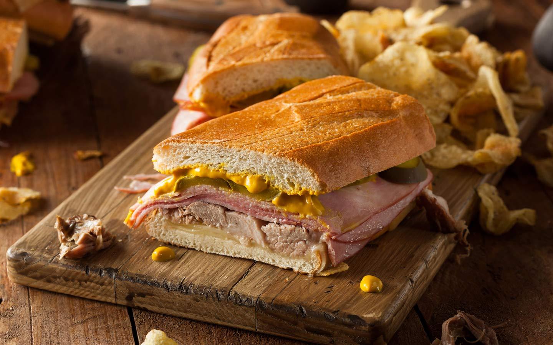 Sandwich cubain