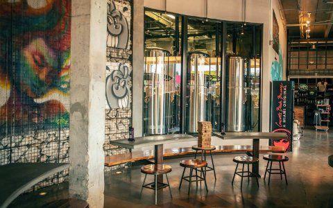 Cerveja artesanal em Miami Scene