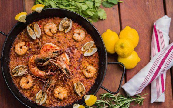 Paella at Bulla Gastrobar