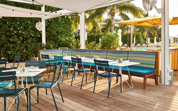 Lido bayside grill at The Standard
