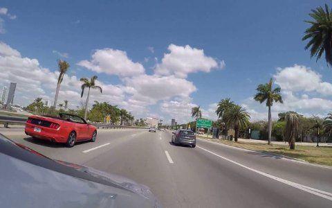 Anreise nach Miami von Ft. Loben
