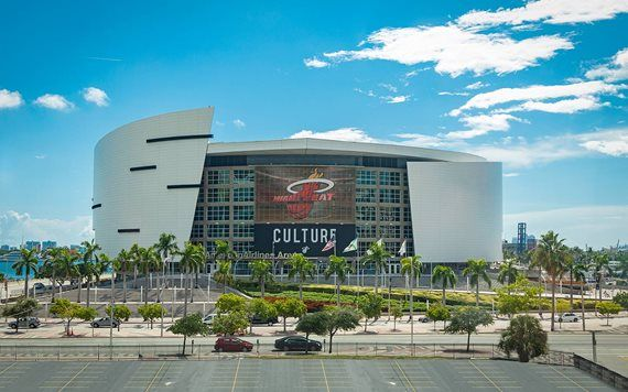 exterior of American Airlines Arena