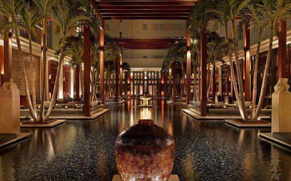 The Setai Miami Beach Courtyard