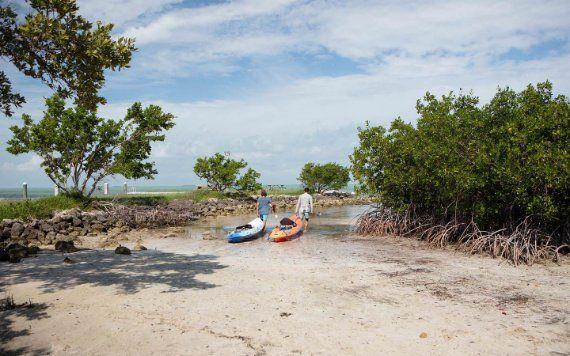 Kayak dans Biscayne National Park