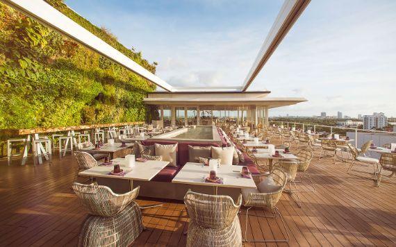 Juvia Rooftop dining