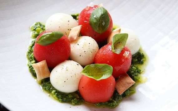 Caprese at The Bazaar by Jose Andres