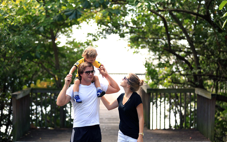 Family in Coconut Grove