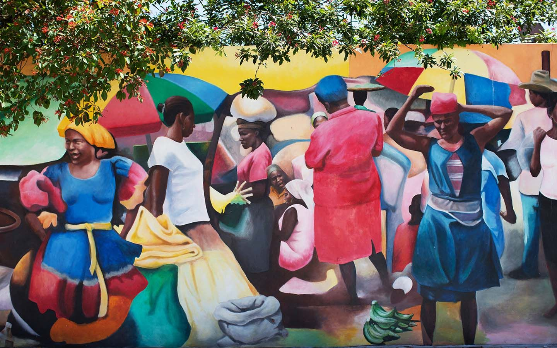 lil haiti mural