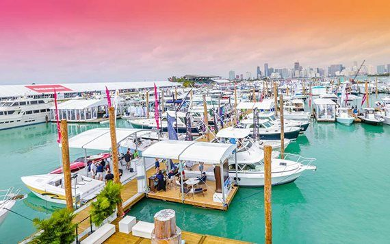 Progressive International Boat Show di Miami
