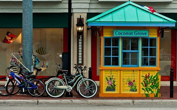 Biking is a great way to explore The Grove