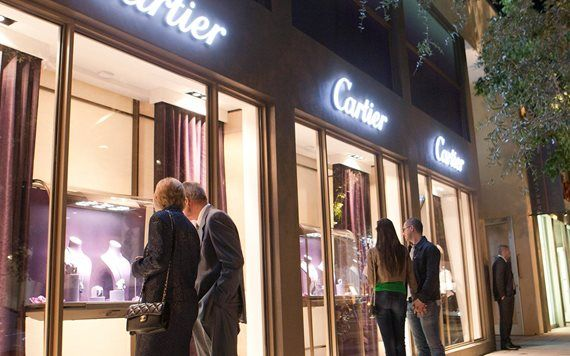 Cartier im Design District, Foto von Richard Patterson