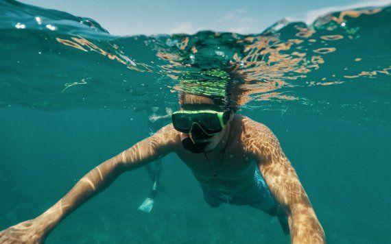 Snorkeling a Biscayne National Park