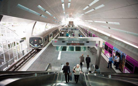 Metrorail en MIA