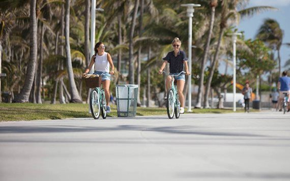 Take a ride around Miami Beach