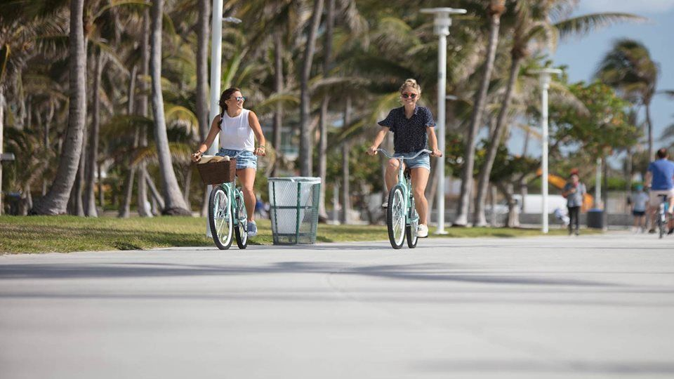 South Beach by Bike