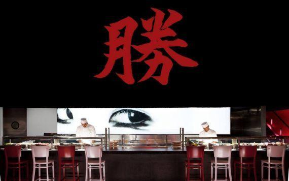 Katsuya sushi bar